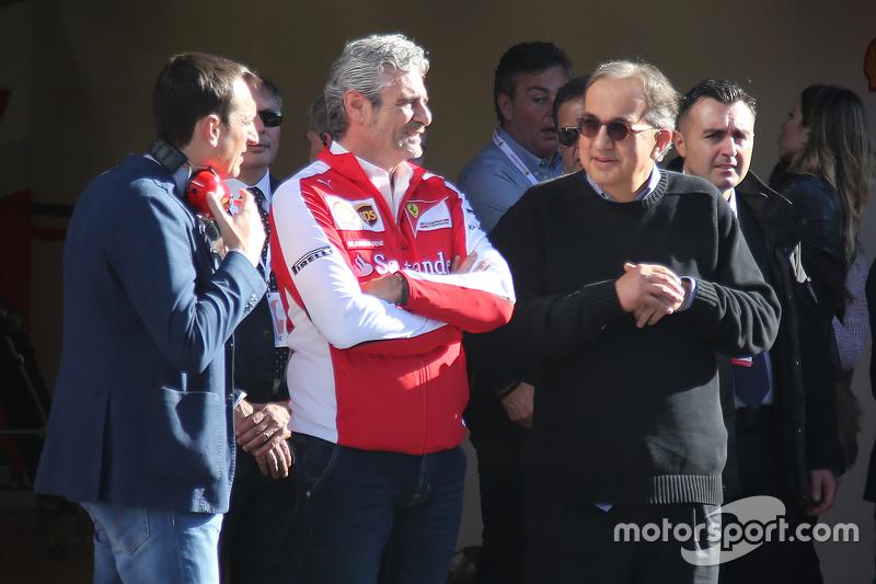 Maurizio Arrivabene, Sergio Marchionne,