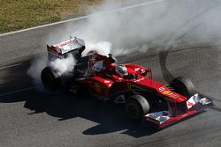 Sebastian Vettel, Ferrari, a bordo della F2012