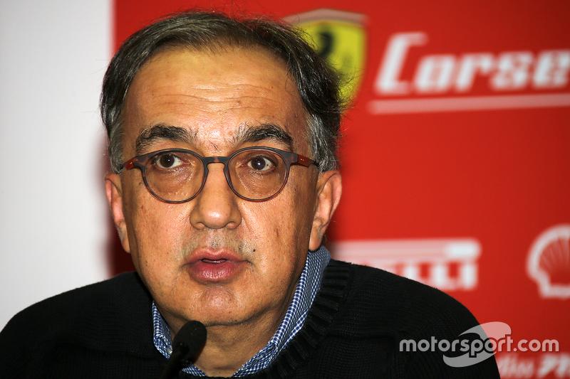 Conferenza stampa Finali Mondiali Ferrari: Sergio Marchionne, Presidente Ferrari e CEO Fiat Chrysler