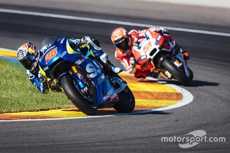 Maverick Viñales, Suzuki MotoGP Takımı ve Michele Pirro, Ducati Takımı