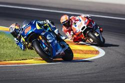 Maverick Viñales, Team Suzuki MotoGP and Michele Pirro, Ducati Team