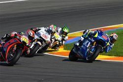 Maverick Viñales, Team Suzuki MotoGP and Alvaro Bautista, Aprilia Racing Team Gresini and Nicky Hayd