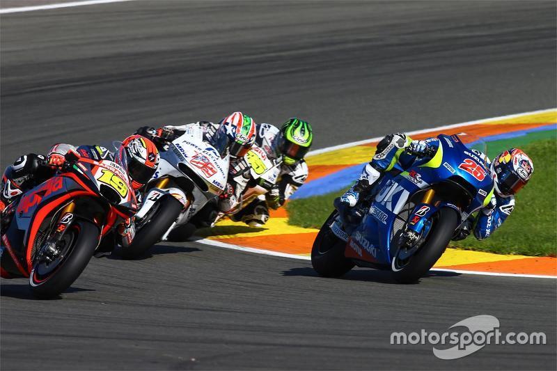 Маверік Віньялес, Team Suzuki MotoGP та Альваро Баутіста, Aprilia Racing Team Gresini та Нікі Хейден