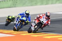 Andrea Dovizioso, Ducati Team en Aleix Espargaro, Team Suzuki MotoGP