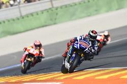 Jorge Lorenzo, Yamaha Factory Racing, Marc Marquez, Repsol Honda Team en Dani Pedrosa, Repsol Honda