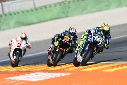 Valentino Rossi, Yamaha Factory Racing and Bradley Smith, Tech 3 Yamaha and Danilo Petrucci, Pramac