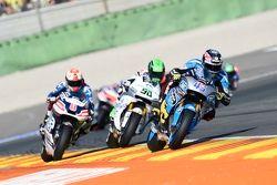Scott Redding, Marc VDS Racing Honda and Eugene Laverty, Aspar Team MotoGP Honda and Hector Barbera,