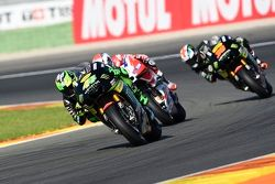 Pol Espargaro, Tech 3 Yamaha and Michele Pirro, Ducati Team and Bradley Smith, Tech 3 Yamaha