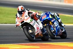 Yonny Hernandez, Pramac Racing Ducati and Maverick Viñales, Team Suzuki MotoGP