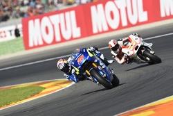 Maverick Viñales, Team Suzuki MotoGP e Yonny Hernandez, Pramac Racing Ducati