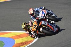 Loris Baz, Forward Racing Yamaha e Hector Barbera, Avintia Racing Ducati