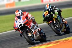 Andrea Dovizioso, Ducati Team e Bradley Smith, Tech 3 Yamaha