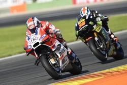 Andrea Dovizioso, Ducati Team e Bradley Smith, Tech 3 Yamaha