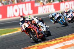 Stefan Bradl, Aprilia Racing Team Gresini and Nicky Hayden, Aspar Team MotoGP Honda