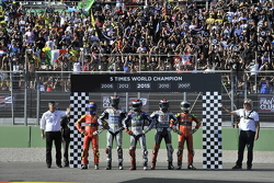 Winnaar en wereldkampioen 2015 Jorge Lorenzo, Yamaha Factory Racing
