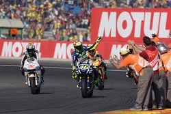 Валентино Росси, Yamaha Factory Racing и Ники Хейден, Aspar Team MotoGP Honda