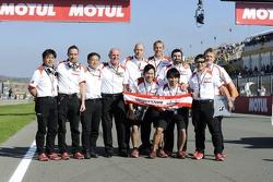Bridgestone staff zegt vaarwel aan MotoGP