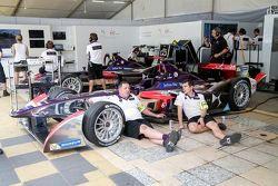 Relax nel box DS Virgin Racing Formula E Team