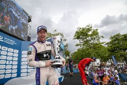 Podio: secondo Sam Bird, DS Virgin Racign Formula E Team, primo Lucas di Grass, Abt Schaeffler Audi Sport