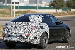 Mercedes-Benz GLC 450 Coupe spyshots