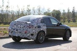 Mercedes-Benz GLC 450 Coupe spyshots