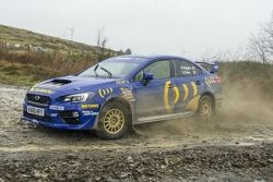 La Subaru STI di David Higgins per il Rally del Galles