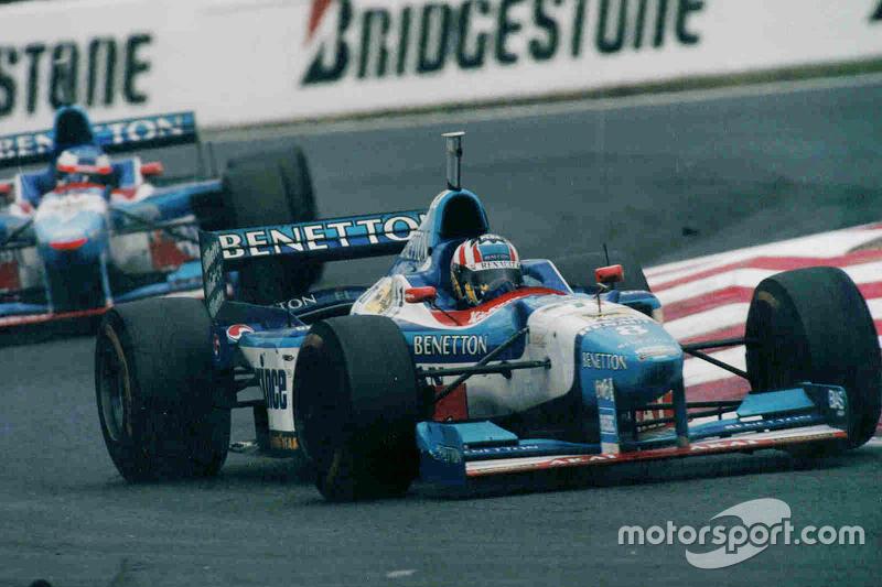 Alexander Wurz ve Jean Alesi, Benetton