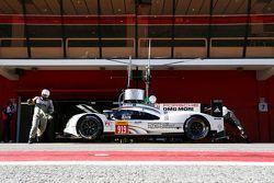 Porsche Team test