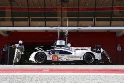 Porsche beim Testen