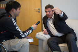 杰拉德·内维接受Motorsport中文网编辑独家采访