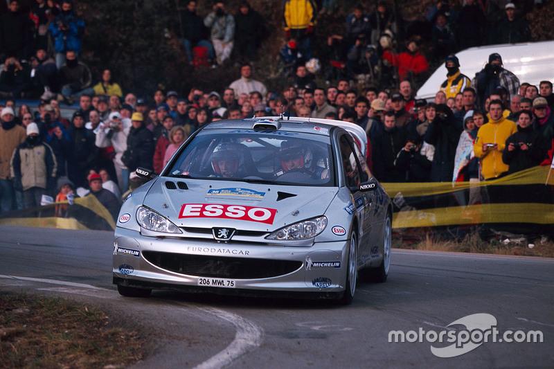 François Delecour y Daniel Grataloup, Peugeot Sport Peugeot 206 WRC