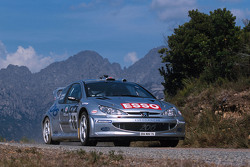 Gilles Panizzi e Hervé Panizzi, Peugeot Sport Peugeot 206 WRC