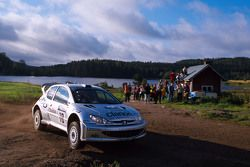 François Delecour and Daniel Grataloup, Peugeot Sport Peugeot 206 WRC