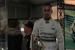 Льюис Хэмилтон, Mercedes AMG F1 на выставке