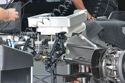 Mercedes AMG F1 W06 nose detail