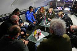Sébastien Ogier, Volkswagen Motorsport con the media