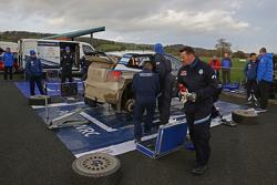 Área de equipo Volkswagen Motorsport