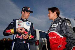 Sébastien Ogier, Volkswagen Motorsport ile Leena Gade, race engineer Audi Sport - Takım: Joest