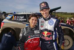 Sébastien Ogier, Volkswagen Motorsport con Leena Gade, ingeniero de carrera Audi Sport Team Joest