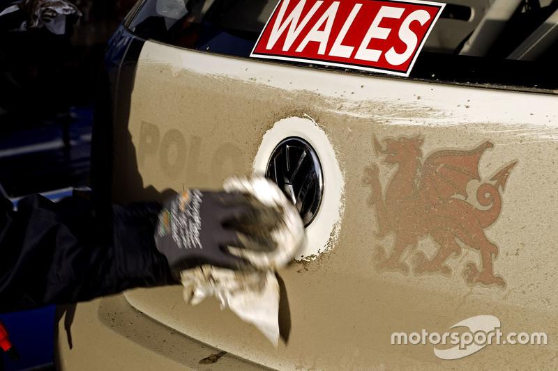 Volkswagen Polo WRC, Volkswagen Motorsport limpiando