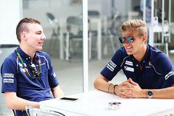 Raffaele Marciello, Sauber F1 com Marcus Ericsson, Sauber F1 Team