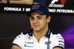 Felipe Massa, Williams na coletiva de imprensa da FIA