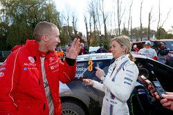 Paul Nagle, Citroën World Rally Takımı ile Susie Wolff