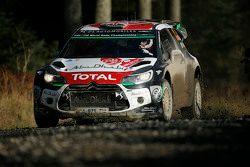 Kris Meeke et Susie Wolff, Citroën DS3 WRC, Citroën World Rally Team