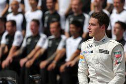 Stoffel Vandoorne, Pilote de réserve et d'essais McLaren F1 Team