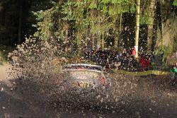 Ott Tanak ve Molder Raigo, M-Sport Ford Fiesta WRC