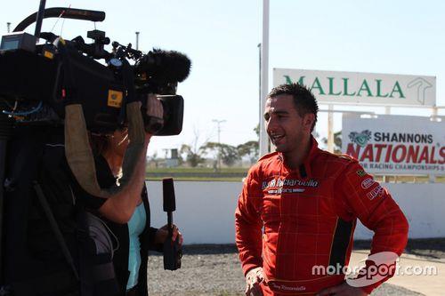 Tony Ricciardello Nationals Driver of the Decade announcement