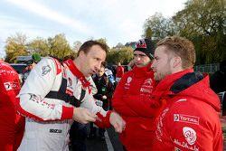 Kris Meeke avec Mads Ostberg, Citroën World Rally Team