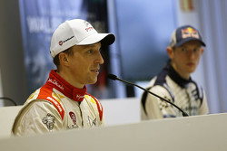 Kris Meeke, Citroën World Rally Team lors de la conférence de presse