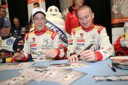 Kris Meeke et Paul Nagle, Citroën World Rally Team
